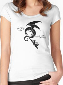 The Desolation Of Smaug Women's Fitted Scoop T-Shirt