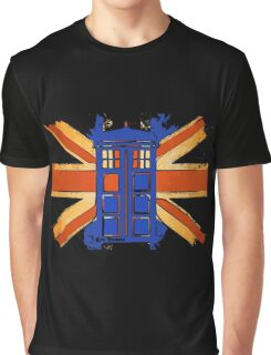 Dr Who - The Tardis - Vintage Jack Graphic T-Shirt