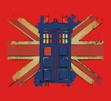 Dr Who - The Tardis - Vintage Jack One Piece - Short Sleeve