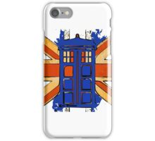 Dr Who - The Tardis - Vintage Jack iPhone Case/Skin