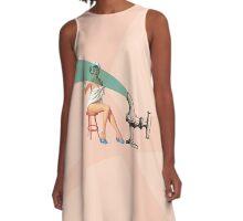 Cut & Paste #1 A-Line Dress