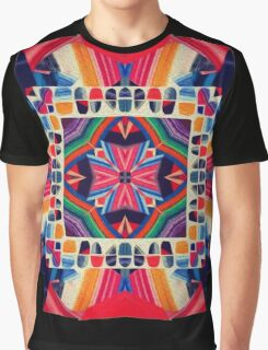 Cut and Paste Kaleidoscope  Graphic T-Shirt