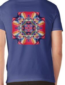 Cut and Paste Kaleidoscope  Mens V-Neck T-Shirt