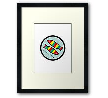 Symbols of Portugal - Sardines Framed Print
