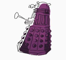 Purple Dalek by PurpleSparklies