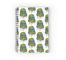 Neon Trooper Spiral Notebook