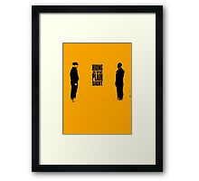 Hiding In Plain Sight 2 - Breaking Bad Framed Print