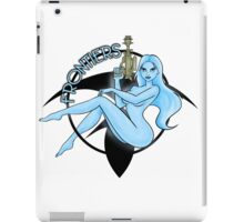 Jil Frontiers pin-up (for light background) iPad Case/Skin