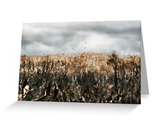 after the fire lennox head  Greeting Card