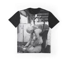 Shearing #12 ... Clifton Farm , Dumbleyung  Graphic T-Shirt