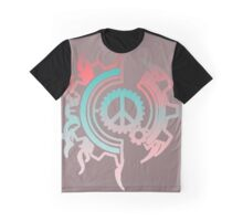 Clockwork Peace Graphic T-Shirt