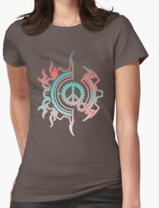 Clockwork Peace Womens Fitted T-Shirt