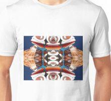 Fractal Retro Rockets Unisex T-Shirt