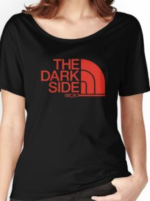 The Dark Side North Face Parody Tee Women's Relaxed Fit T-Shirt
