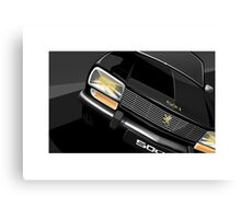 Poster artwork - Peugeot 504 saloon. Canvas Print