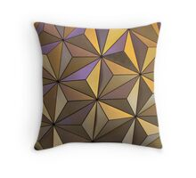 EPCOT at night Throw Pillow