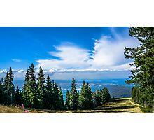 Ski Slope Photographic Print