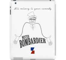 Mister Bombardier - on Zed iPad Case/Skin