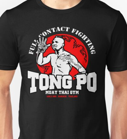 NEW TONG PO MUAY THAI FIGHTER VILLAIN KICKBOXER VAN DAMME MOVIE Unisex T-Shirt