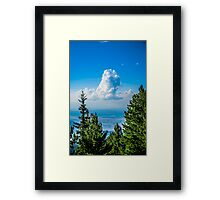 Lonely Cloud In The Sky Framed Print