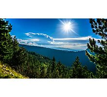 The Forests Of Rila Mountain Photographic Print