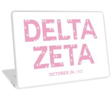 Delta Zeta VIEWS (Pink) Laptop Skin