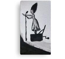 disassociate  Canvas Print