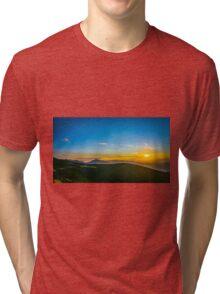 Beautiful Sunset Tri-blend T-Shirt