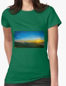 Beautiful Sunset Womens Fitted T-Shirt