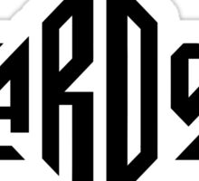Zardoz logo Sticker