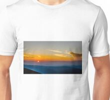 Beautiful Sunset Over Rila Mountain Unisex T-Shirt