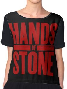 Hands Of Stone Chiffon Top