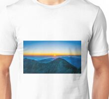 Beautiful Sunrise Over Rila Mountain Unisex T-Shirt