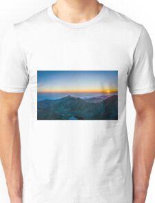 Sunrise Over Rila Mountain Unisex T-Shirt