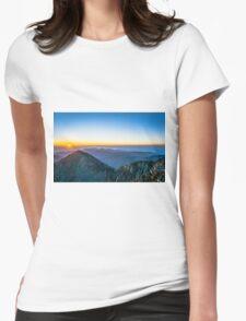 Beautiful Sunrise Womens Fitted T-Shirt