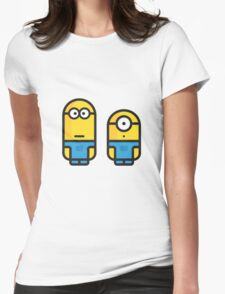minions Womens Fitted T-Shirt