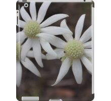 Flannel Flower  iPad Case/Skin