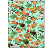 Fruit and Floral Pattern iPad Case/Skin