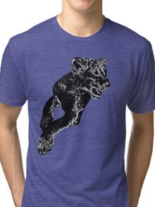 African Lion Cub - Young Lion Tri-blend T-Shirt