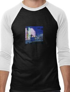 Night Lights Men's Baseball ¾ T-Shirt