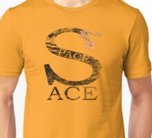 Space Ace with Renegade Merchant accent - distressed Unisex T-Shirt