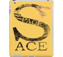Space Ace with Renegade Merchant accent - distressed iPad Case/Skin