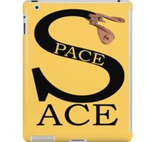 Space Ace with Renegade Merchant accent iPad Case/Skin