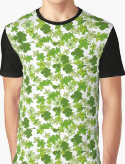 Green Flower Graphic T-Shirt