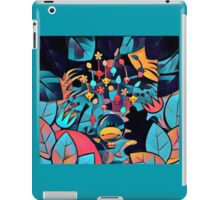 Pikmin Neon Jungle iPad Case/Skin