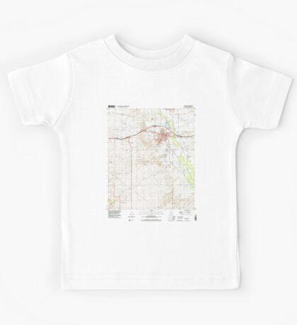 USGS TOPO Map Arizona AZ Benson 310439 1996 24000 Kids Tee