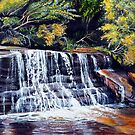 Cascades, Blue Mountains by © Linda Callaghan