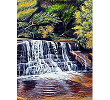 Cascades, Blue Mountains Photographic Print