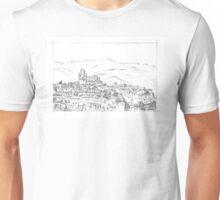 Italy. Orvieto sketch Unisex T-Shirt