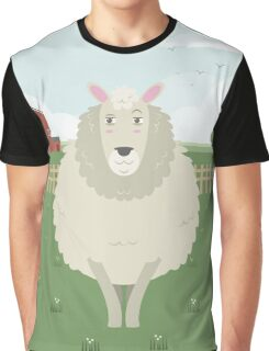 Sheep in a meadow Graphic T-Shirt